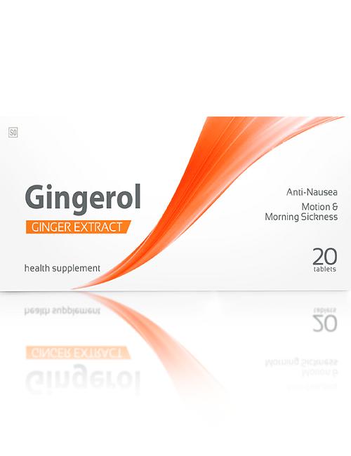 gingerol morning sickness